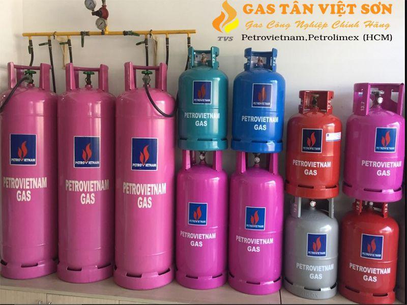 Bình gas đa dạng kích thước