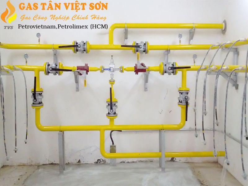 Lắp hệ thống gas đúng chuẩn