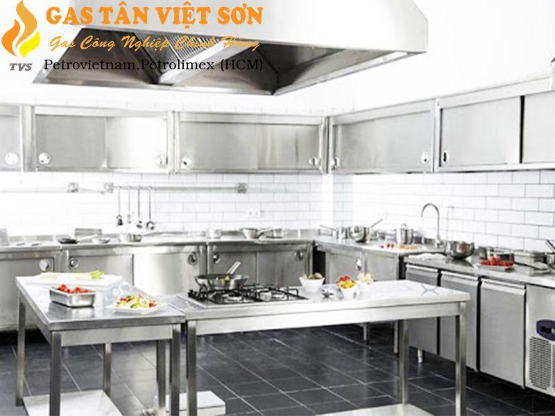 Căn bếp nhà hàng bắt mắt