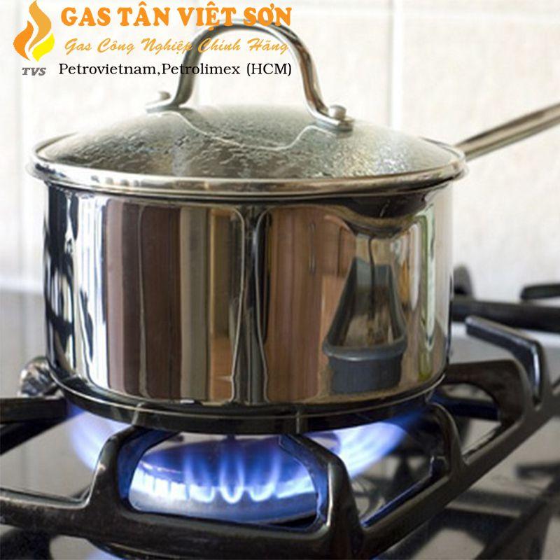 Để lửa vừa đủ nấu