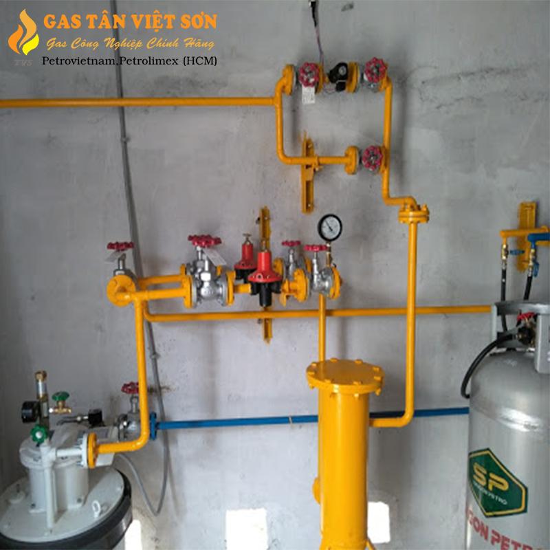 Hệ thống gas nhà hàng
