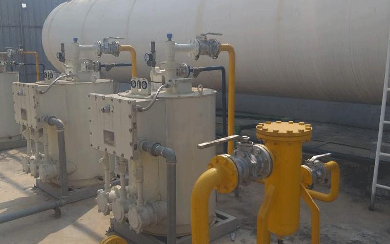 Gas bồn công nghiệp
