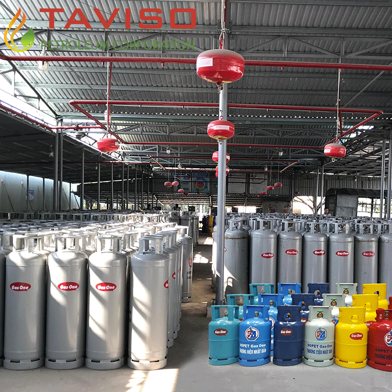 Gas dân dụng và gas công nghiệp