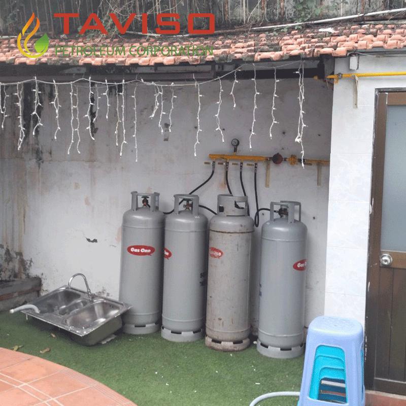 hệ thống gas công nghiêp
